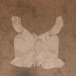 Urban outfitters cropped tank size small